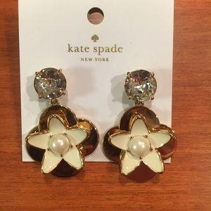 kate spade Jewelry - Brand new Kate Spade flower earrings